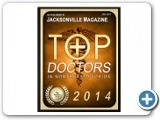 Jacksonville                                                                                        Magazine Top Doctors Northeast Florida 2014