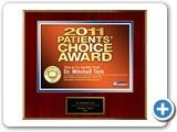 Patient's Choice Award 2011: