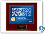 Patient's Choice Award 2012: