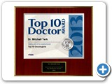 Top Ten Oncologist Doctor                                                                                        Award 2013: