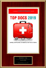 DR. MITCHELL TERK - JACKSONVILLE MAGAZINE TOP DOCTOR 2019
