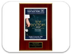 Castle Connolly's 2016 Top Doctors Metro Area Jacksonville Award: Dr. Cesaretti