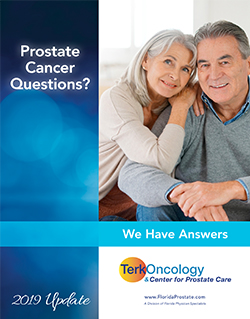 Prostate cancer questions and answers book.