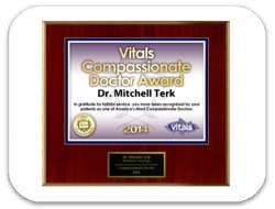 Vitals' Compassionate Doctor's Award 2014 - Mitchell Terk, MD